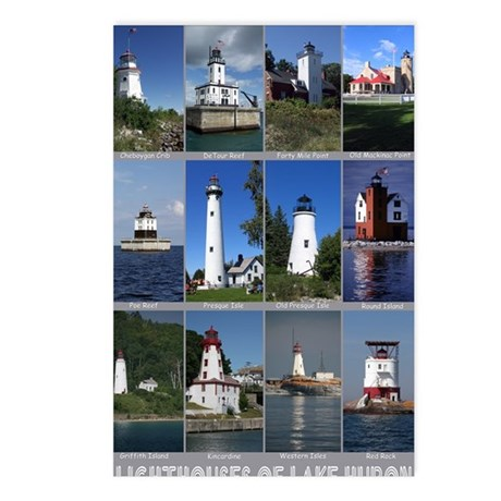 Lake Huron 16x20 Postcards (Package of 8)