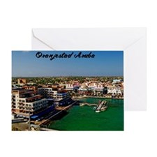 Oranjestad Aruba14x10 Greeting Card