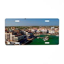Oranjestad Aruba14x10 Aluminum License Plate