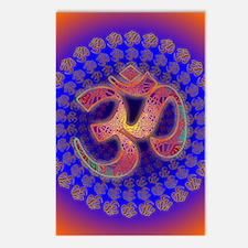 Aum-Metatron-Om-Symbol-Co Postcards (Package of 8)
