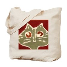 Batik Cat Tote Bag