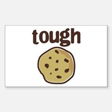 tough cookie baby Rectangle Decal