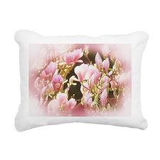 Magnolia Rectangular Canvas Pillow