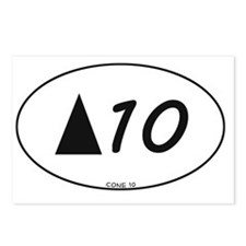 Cone10_Oval Postcards (Package of 8)