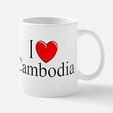 """I Love Cambodia"" Mug"