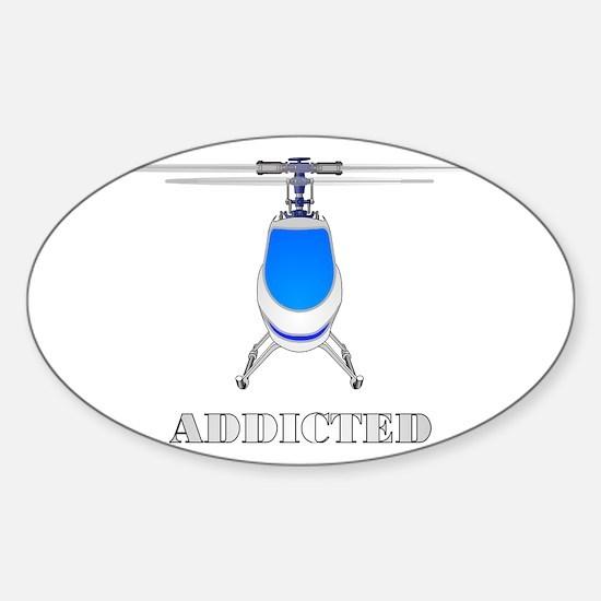 addicted Sticker (Oval)