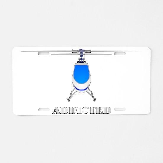 addicted Aluminum License Plate