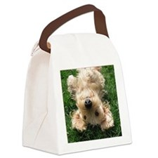 wire hair blond16x16 Canvas Lunch Bag
