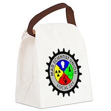 mad_scientist_union_logo Canvas Lunch Bag