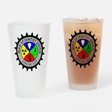 mad_scientist_union_logo Drinking Glass