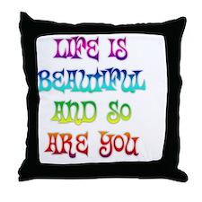 lifebeau Throw Pillow