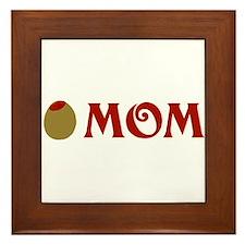 Olive Mom Framed Tile