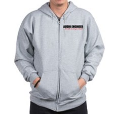 Mute Your Channel Zip Hoodie
