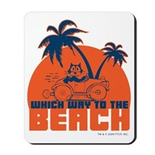 whichwaytothebeach Mousepad