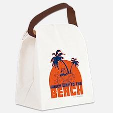 whichwaytothebeach Canvas Lunch Bag