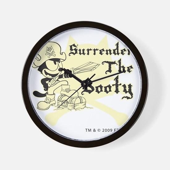 surrenderthebooty Wall Clock