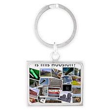 Isthishouston-T Landscape Keychain