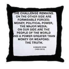 zinn Throw Pillow