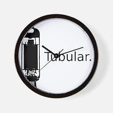 tubular.gif Wall Clock