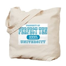 Perfect Ten University Tote Bag