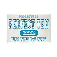 Perfect Ten University Rectangle Magnet