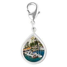 Orjanstad Marina Aruba2.91x Silver Teardrop Charm