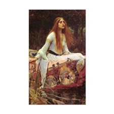 Lady of Shalott Journal Decal