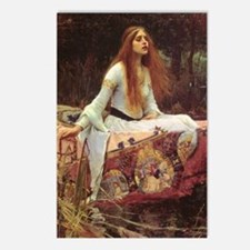 Lady of Shalott Journal Postcards (Package of 8)