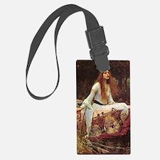 Lady of Shalott Journal Luggage Tag