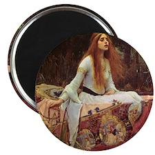 Lady of Shalott Keepsake Box Magnet