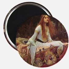 Lady of Shalott Keepsake Box Magnet
