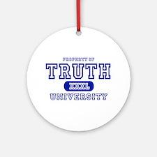 Truth University Ornament (Round)