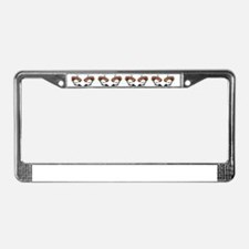 8.31x3_petdish-chi License Plate Frame