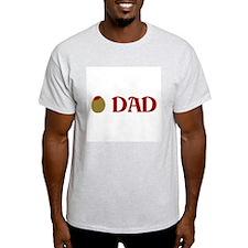 Olive Dad Ash Grey T-Shirt