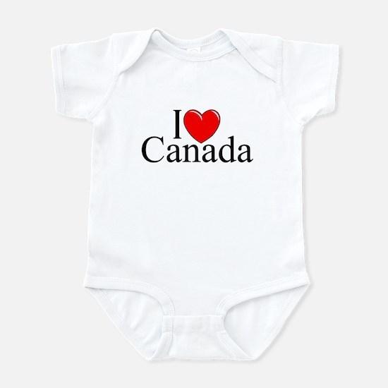 """I Love Canada"" Infant Bodysuit"