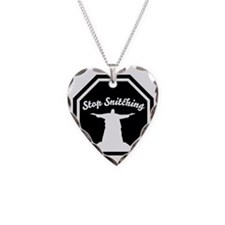 2-stop_snitching Necklace