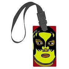 Lucha Libre Rojo 2 Luggage Tag