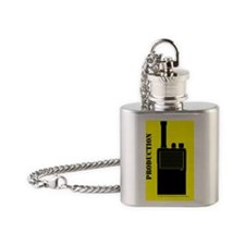 production sticker Flask Necklace