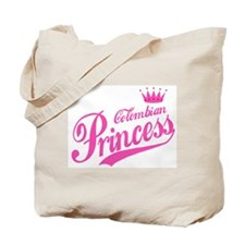 Colombian Princess Tote Bag