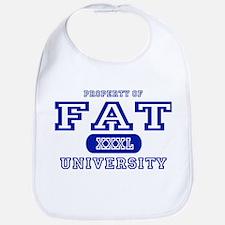 Fat University Bib