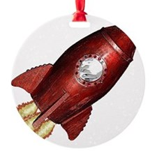 red_rocket_angle_flat Ornament