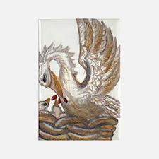 Arabellas Pelican Rectangle Magnet