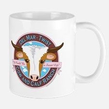 Ennis Del Mar & Jack Twists Ranch Logo Mug