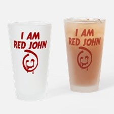 The Mentalist I Am Red John Drinking Glass