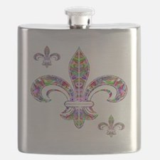 PSYCHEDELIC FLEUR-69c Flask