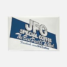 JFG Sign Illustration Rectangle Magnet