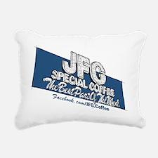 JFG Sign Illustration Rectangular Canvas Pillow