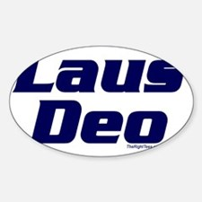 3-LausDeo Decal