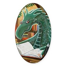 Library Dragon Decal