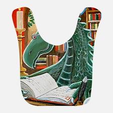 Library Dragon Bib